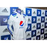 Camiseta Millonarios 2015 Blanca Envio Gratis 100% Original