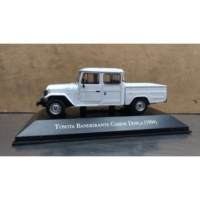 Miniatura Carrosinesquecíveis Toyota Bandeirante Cabine Dupl