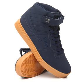 Tenis Fila Vulc,azul,hombre,skate,basketball,pony,bota,retro
