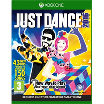 Jogo Novo Kinect Just Dance 2016 Dança Para Xbox One