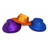 Sombrero Cowboy Con Brillantina $ 39