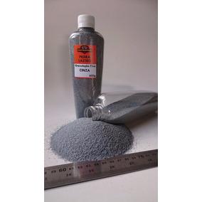 Pedra Brita Para Maquetes - Extra Fino - Cinza Escala N - Z