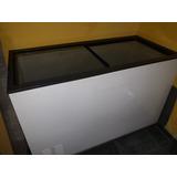Freezer Horizontal Com 2 Portas De Vidro