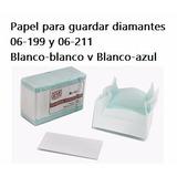 Papel Para Guardar Diamantes Blanco Azul Solo Puerto Ordaz