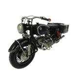 Miniatura Motocicleta Bmw R60-2 Gendarmerie Com Sidecar