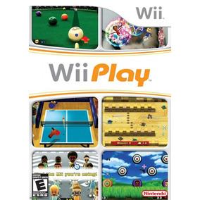 Nintendo Wii Play 9 Juegos Nuevo Sellado Y Envio Gratis