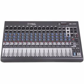 Mesa De Som 16 Canais Starmix Xms1602d Com Usb/bt