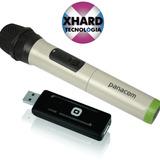 Micrófono Inalámbrico Karaoke Panacom Mc-9706w Usb Mic Xhard