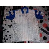 Camiseta Uhlsport Tlle Xl Satinada Logo En Felpa Nro Pintado
