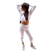 Conjunto Top Crop Y Jogging Chupin Gdo Chic Mujer