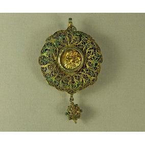 Dije Metal Dorado Imágenes Virgen Y Niño Dios Y Jesucristo
