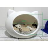 Cama Cucha De Diseño Esfera Huevo Gatos Perros Microcentro
