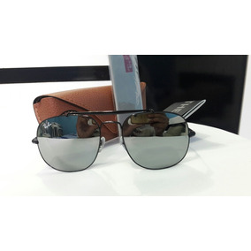 Óculos De Sol Ray Ban General Espelhado Cinza Lançamento