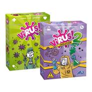 Virus + Virus 2 Combo Juego De Mesa Scarlet Kids Dragon