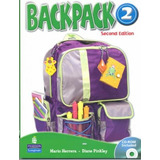 Libro De Ingles Backpack 2 (blanco Y Negro )