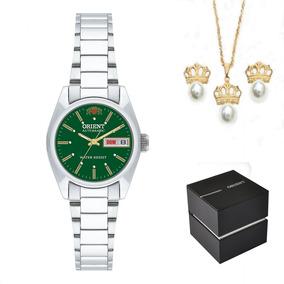 da3526e9aea Kit Relógio Orient Feminino Automático 559wc8x E1sx + Nf