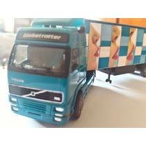 Volvo Albedo Caminhão Carreta Bau Escala Ho 1/87 Nr. 1014