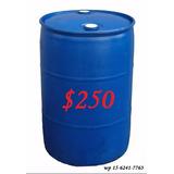 Tambores De Plastico Y Chapa X 200 Y Bidones X 5-10-20-30lt