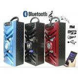 Caixa De Som Portatil Bluetooth Mp3 Usb Cartão Fm E 13