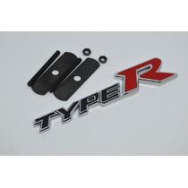 Emblema Grade Honda Type R Civic Si Vtec Hrv Accord City Fit