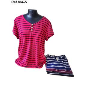 cec8c5e56 Kit Blusa Malha Feminina Academia - Camisetas e Blusas no Mercado ...