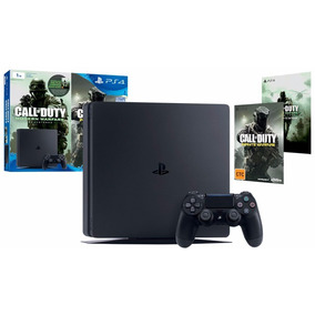 Ps4 Slim Console 500gb + Call Of Duty Infinity Warfare