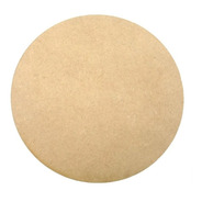 Base Circulo Mdf Fibrofacil 5,5mm De 15,5 Cm Diámetro X10 U
