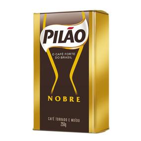 Café Pilão Nobre Torrado E Moído Vácuo 250g
