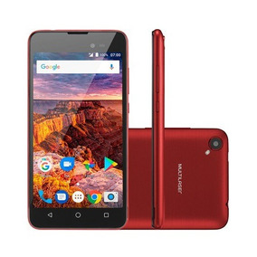 Smartphone Ms50l Android 7.0 8gb 8mp Vermelho Multilaser