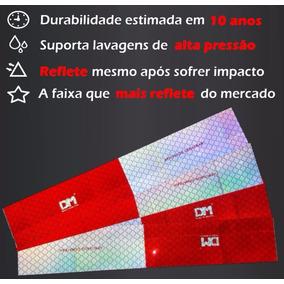 100 Faixa Refletiva Lateral Dm Caminhão - Denatran
