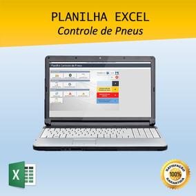 Planilha Excel Controle De Pneus Para Frota Transportadora