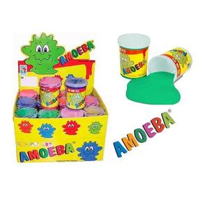 Caixa De Amoeba (24 Unidades) Massinha Criança Geleca