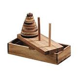 Juguete Juegos De Torre De Hanoi Juego De Madera