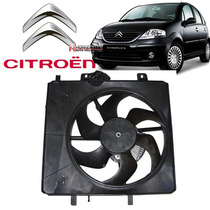 Eletroventilador Ventoinha Citroen C3 2003 À 2008 Com Módulo