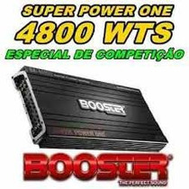 Modulo Power One Force Two Booster Ba-4610d 4800w 4 Canais
