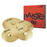 Kit Paiste 101 Brass Universal Set - Loja Oficial Paiste