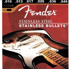 Cuerdas Fender Para Guitarra Electrica 010 De Metal Nueva