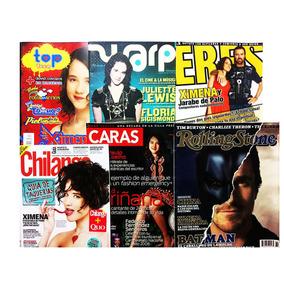 Lote De 6 Revistas Ximena Sariñana