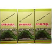 Spirulina Pura Pack 3 X 90 Comp. Suplemento Dietario Envió!