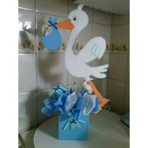 Centro De Mesa Baby Shower , Bautismo, Cumpleaños