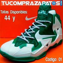 Zapatos James Lebron 12 Tallas 44 Solo 2 Pares Disponibles