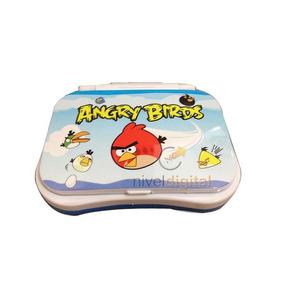 Computadora Angry Birds Netbook Laptop De Español Didactica