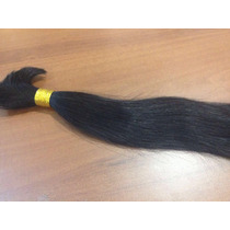 Cabelo Humano Liso Solto 50cm 100g Fdc3