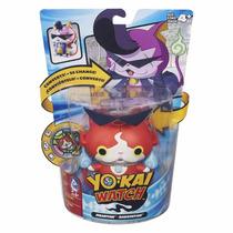 Boneco Yo-kai Watch Jibanyan Transformavel + Medalha Hasbro