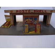 Estrela - Antigo Posto De Gasolina Shell Madeira Anos 40/50
