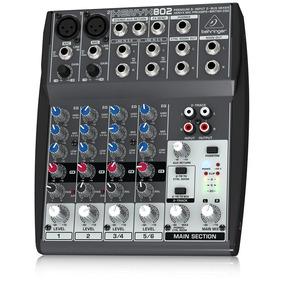 Mixer 8 Canales Behringer Xenyx 802 Premium 8-input 2-bus Mi