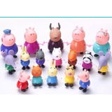 Peppa Pig 17 Figuritas (envio Gratis)