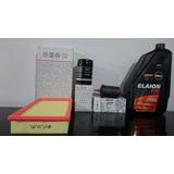 Kit De Filtros Aceite+aire+nafta+ Elaion F30 Gol Power 1.4