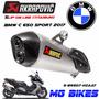 Escape Akrapovic Bmw C 650 Sport 2017 Solo En Mg Bikes