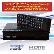 Conversor De Sinal Analógico P/ Digital Gravador Full Hd Usb